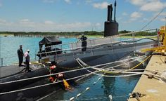 U.S. Navy attack sub's chief glad to be 'home' as boat visits Brevard