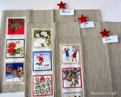 Ana Love Craft: INDIVIDUAIS DE NATAL - CHRISTMAS PLACEMATS