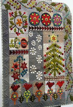 Crimson Tweed BOM, pattern only.