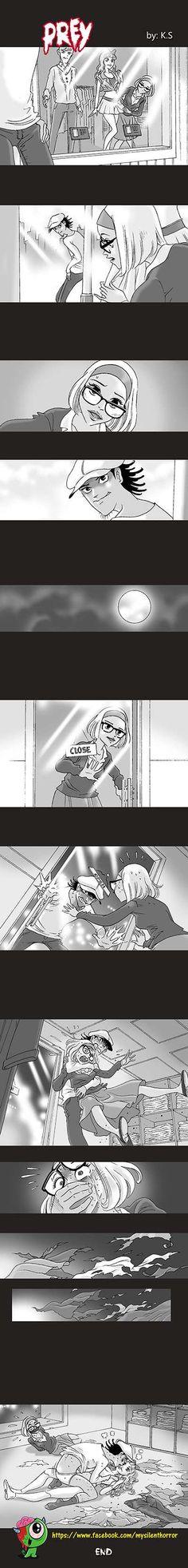 Silent Horror :: Prey   Tapastic Comics - image 1