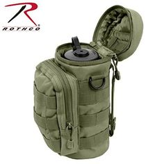 Rothco MOLLE Compatible Water Bottle Pouch, Olive Drab