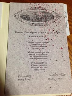 Halloween Custom Printable Insane Asylum by RavenHollowDesigns ...