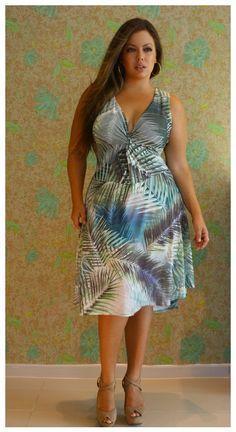 La Mafe Moda Plus Size - Primavera / Verão 2013  ----------------------------------------- http://www.vestidosonline.com.br/modelos-de-vestidos/vestidos-gordinhas