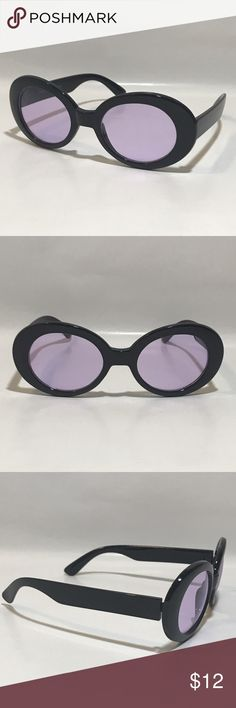 89a337091055 Vintage Purple Lens Clout Goggles ☑ 1 Pair of Clout Goggles ▫️Black Frame ▫