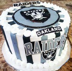 Raiders Cake! by LD Cakes n Cupcakes!
