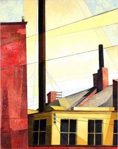 From the Garden of the Chateau, Charles Demuth