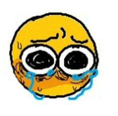 Funny Emoji, Cute Emoji, Images Emoji, Chibi, Emoji Drawings, Crying Emoji, Drawing Expressions, Cute Memes, Cute Doodles