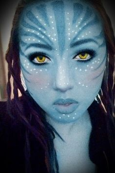 Avatar Make Avatar, Create An Avatar, Avatar Halloween, Halloween Costumes, Costume Makeup