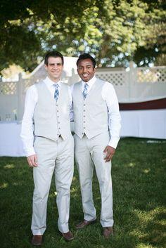 Stylin' groomsmen
