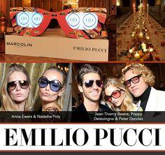 Celebrating Emilio Pucci's Spankin' New Frames: http://eyecessorizeblog.com/2015/01/celebrating-emilio-puccis-spankin-frames/