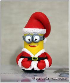 Santa Claus Minion Despicable me - Christmas figurine