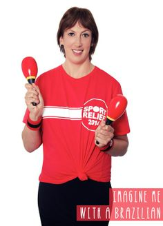 Sport Relief is back from - March As well as the Sport Relief Mile, we've planned a whole week of activities to choose from, so pre-order your free fundraising pack now. Sarah Hadland, Miranda Hart, Bbc Worldwide, Bbc One, Sale Promotion, News Articles, Aerobics, Stand Up, Fun Workouts