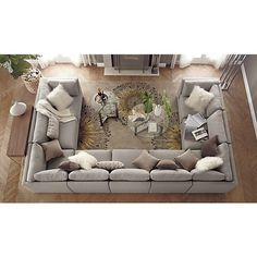 Moda 9-Piece Sectional Sofa in 15% off The Sofa Sale | Crate and Barrel