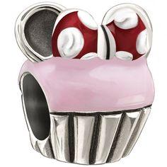 Chamilia Disney Minnie Mouse Cupcake Bead, $50.00