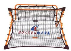 2 in 1 Soccer Rebounder and Trainer, FIFA World Cup soccer/football training device soccer passing shooting trapping drills soccer goal, soccer volley shots kids/adults agility trainer Soccer Pro, Soccer Gear, Soccer Players, Soccer Ball, Soccer Jokes, Soccer Practice, Soccer Skills, Portable Soccer Goals, Homes