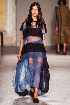 #UmaWang #2015 #Fashion #Show #ss2015 #mfw #Milan #Fashionweek via @TheCut