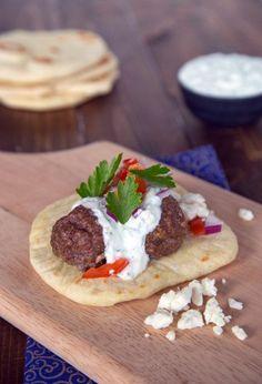 Greek Gyros with Meatballs