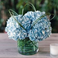 Floral Wedding Centerpieces Planning and Tips - Love It All Blue Centerpieces, Wedding Table Centerpieces, Wedding Flower Arrangements, Floral Arrangements, Wedding Bouquets, Wedding Decorations, Centerpiece Flowers, Centerpiece Ideas, Floral Wedding