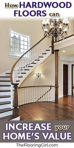 Can hardwood flooring improve the resale value of your home? What is the return on investment for hardwood floors? Will the house sell faster with hardwood? Types Of Wood Flooring, Installing Hardwood Floors, Refinishing Hardwood Floors, Diy Flooring, Flooring Ideas, Diy Home Decor Projects, Home Improvement Projects, Interior Design Courses Online, Luxury Vinyl Plank
