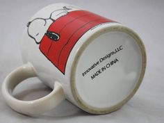 innovative designs snoopy mug
