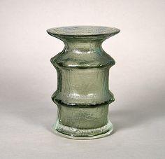 Timo Sarpaneva, Iittala Glass, Finland - Finlandia Bark Vase...click to read more.....