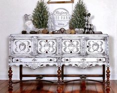 Excited to share this item from my shop: White buffet server, French provincial furniture , dining room cabinet, storage cabinet , vintage buffet credenza shabby chic farmhouse Cocina Shabby Chic, Muebles Shabby Chic, Shabby Chic Farmhouse, Shabby Chic Kitchen, Shabby Chic Homes, Shabby Chic Decor, Rustic Wood Furniture, Hand Painted Furniture, Home Decor Furniture