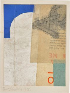 Kurt Schwitters, Art Day, Impressionist, Paper Shopping Bag, Modern Art, Mixed Media, Collage, Gallery, Artist