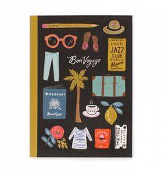 Travel Essentials Smyth Sewn Journal