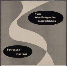 Otl Aicher. 1949-51