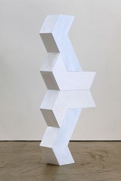 Tessellated Arrangements – Sculpture & Works on Paper by Artist Matt Calderwood – OEN Geometric Sculpture, Abstract Sculpture, Geometric Art, Cardboard Sculpture, Art Sculpture, Contemporary Sculpture, Contemporary Art, Arte Popular, Totems