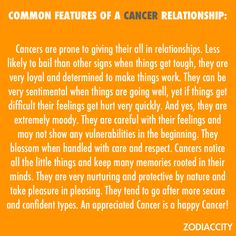 """Cancer sign...me, to a """"T"""" An appreciated cancer is a happy cancer!"""