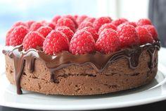 En sjokoladekake som kjennes som fløyel i munnen.