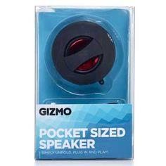 Foldable speaker £5, Wilko