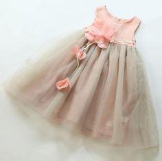 >> Click to Buy << YA2058 Retail 2016 Summer Fashion Girls Dresses Patchwork 3D Flower Sashes Sleeveless Girl Dress Princess Party Dress Lolita #Affiliate