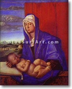 Madonna and Child - £124.99 : Canvas Art, Oil Painting Reproduction, Art Commission, Pop Art, Canvas Painting