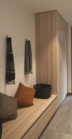 High Street / Alta Architecture -omg I love this simple mud room Interior Architecture, Interior Design, Entry Hallway, Hallway Cabinet, Entry Closet, Street House, House Entrance, Entrance Hall, New Home Designs