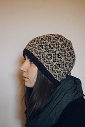 The Northdale Hat is a wee offshoot of my Northdale sweater. This is a quick and relatively easy knit being that it is in DK weight yarn and only uses 3 colors. For extra jauntiness stick a pom pom on it!