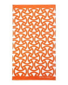 TRINA TURK Santori Beach Towel Orange $65 Pick Up or Ships Free BUY HERE http://rain-rossi.mybigcommerce.com/trina-turk-santori-beach-towel-orange-65-pick-up-or-ships-free/