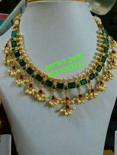 Antic Jewellery, Gold Jewellery Design, Bead Jewellery, Beaded Jewelry, Beaded Necklace Patterns, Jewelry Patterns, Coral Jewelry, Bridal Jewelry, Stylish Jewelry
