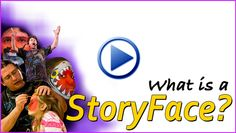 The story comes to life on the faces of the audience. Christopher Agostino's StoryFaces