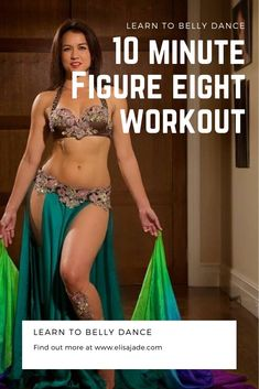 Get fit, have fun and learn how to belly dance! This short tutorial and workout will have you feeling great. Belly Dance Workouts, Dance Workout Videos, Hip Workout, Workout Ideas, Figure 8 Workout, Belly Dance Lessons, Shorts Tutorial, Nfl Cheerleaders, Work Outs