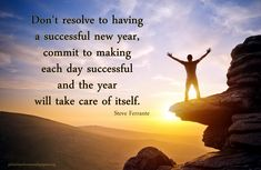 While taking a fresh start, there are hundreds of New Year's resolution ideas one can think about. You definitely need to make a set of changes in your life in helping you achieve life goals. Best Inspirational Quotes, Motivational Quotes, New Years 2016, Year 2016, Robert Louis, New Year Celebration, Golden Rule, Steve Jobs, Life Goals