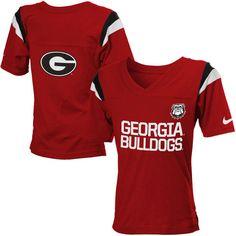 Georgia Bulldogs Nike Youth Girls Fan T-Shirt - Red - $23.99