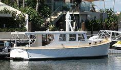 John Silver - 35' Millkraft Camper Boat, Cabin Cruiser, Power Boats, Home Jobs, Wooden Boats, Sailing, Houseboats, Silver, Ships