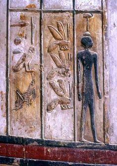 Los símbolos egipcios y su significado. SOMBRA Junto al Ka, Ba, el nombre, y el…