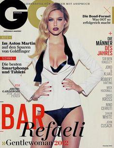 Ideas Sport Illustrated Swimsuit Models Bar Refaeli For 2019 Gq Magazine Covers, Magazine Cover Design, Model Magazine, Bar Refaeli, Fashion Mag, Fashion Cover, Aston Martin, Joko, Gentleman