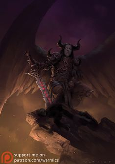 Dark Angel by Warmics.deviantart.com on @DeviantArt