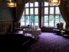 The stunning Nesfield Suite ready for June's networking at Hampton Manor