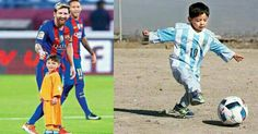 The Messi of Afghanistan - Afghan Boy Murtaza Gets to Meet His Hero Messi   Murtaza Ahmadi the Afghan boy who became an Internet sensation after pictures of him wearing an improvised Lionel Messi football shirt (below) went viral finally got to meet his superstar idol on Tuesday. Murtaza 6 met the Barcelona forward in Doha where the Spanish league champions are playing a friendly match against Saudi Arabian side Al-Ahli.  Murtaza was quoted as saying: Im very happy to have met my hero. It is…