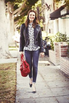 Mandy Moore came by to raid our closet. Click to see the chic results!